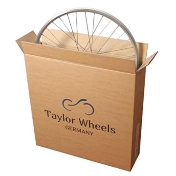 Taylor-Wheels 26 Zoll Vorderrad Mach1 MX/HB-M475 6 Loch Disc weiß - 3