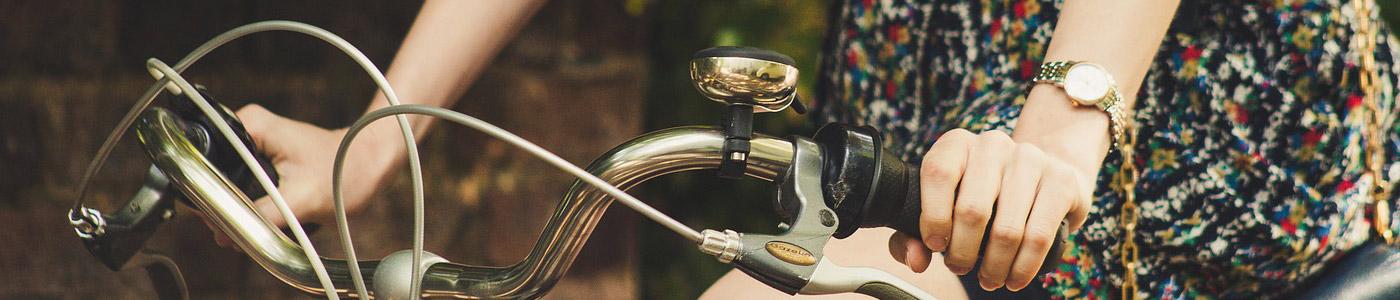 Fahrradfelge Header Damenfahrrad